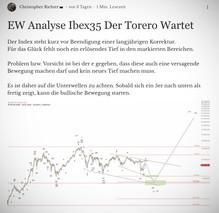 EW Analyse Ibex35