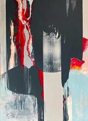 'Evolution' Acrylic on Canvas $1,600 120