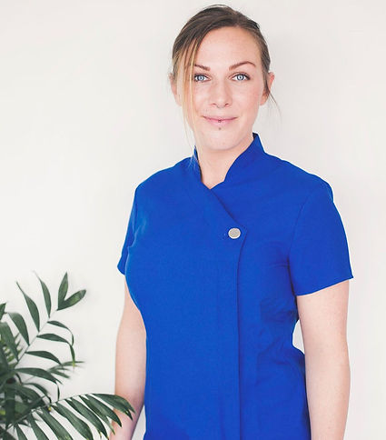 Maria Jakobsson, anställd på Care of Moa