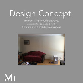 Home styling in Melbourne with modern abstract art by Matejka Interiors. The request
