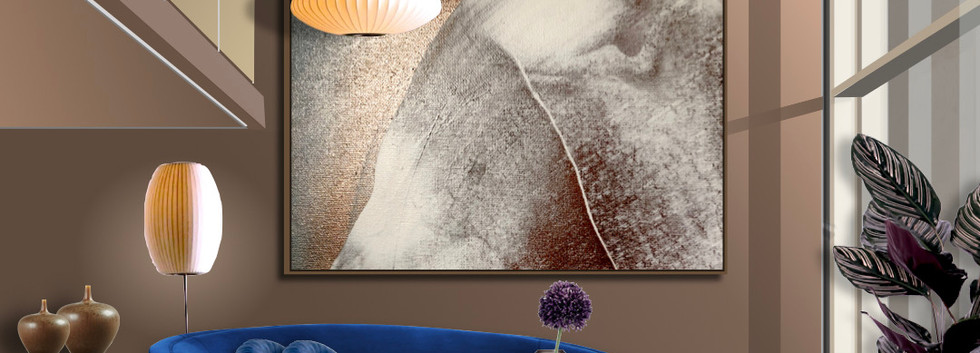 Matejka interiors  Interior styling in Melbourne with modern abstract art