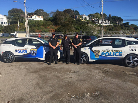 BMW of Peabody Donates to Local Police