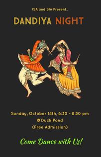 Indian Students Association - Dandiya Night Cultural Event