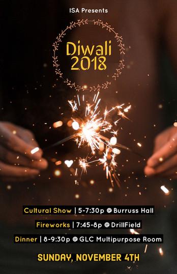 Indian Students Association - Diwali Cultural Event