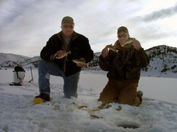 Ice Fishing Pineview res.