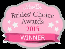 Brides' choice awards 2015 winner