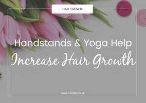 handstands and yoga increase hair growth