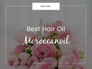 best hair oil moroccanoil