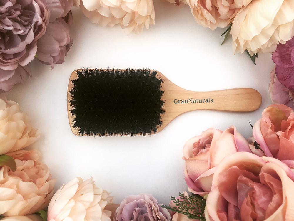 Cruelty free Boar Bristle Brush