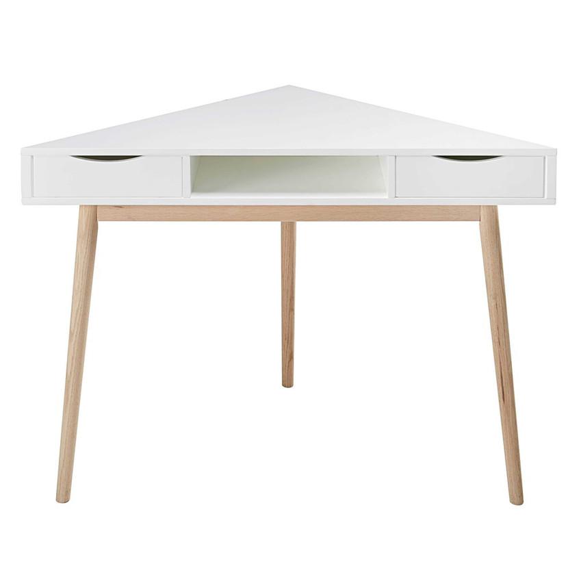Corner Scandinavian desk
