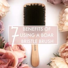 boar bristle brush benefits