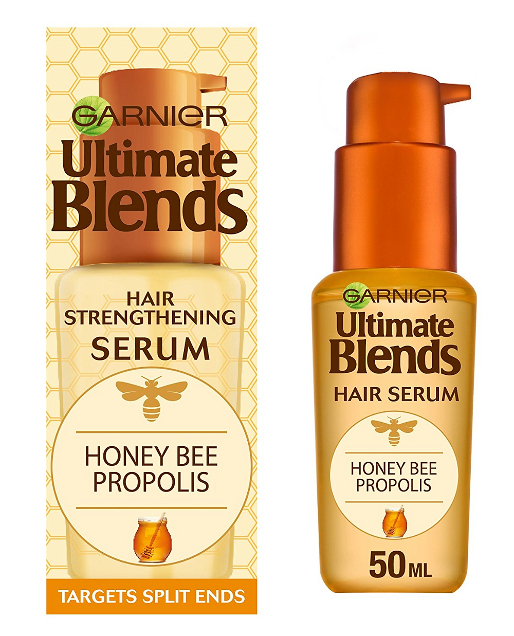 Garnier Ultimate Blends Honey Strengthening Hair Serum