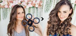 heatless curls flower curl