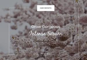 grow gorgeous intense serum