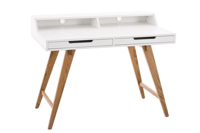 White Scandinavian Desk