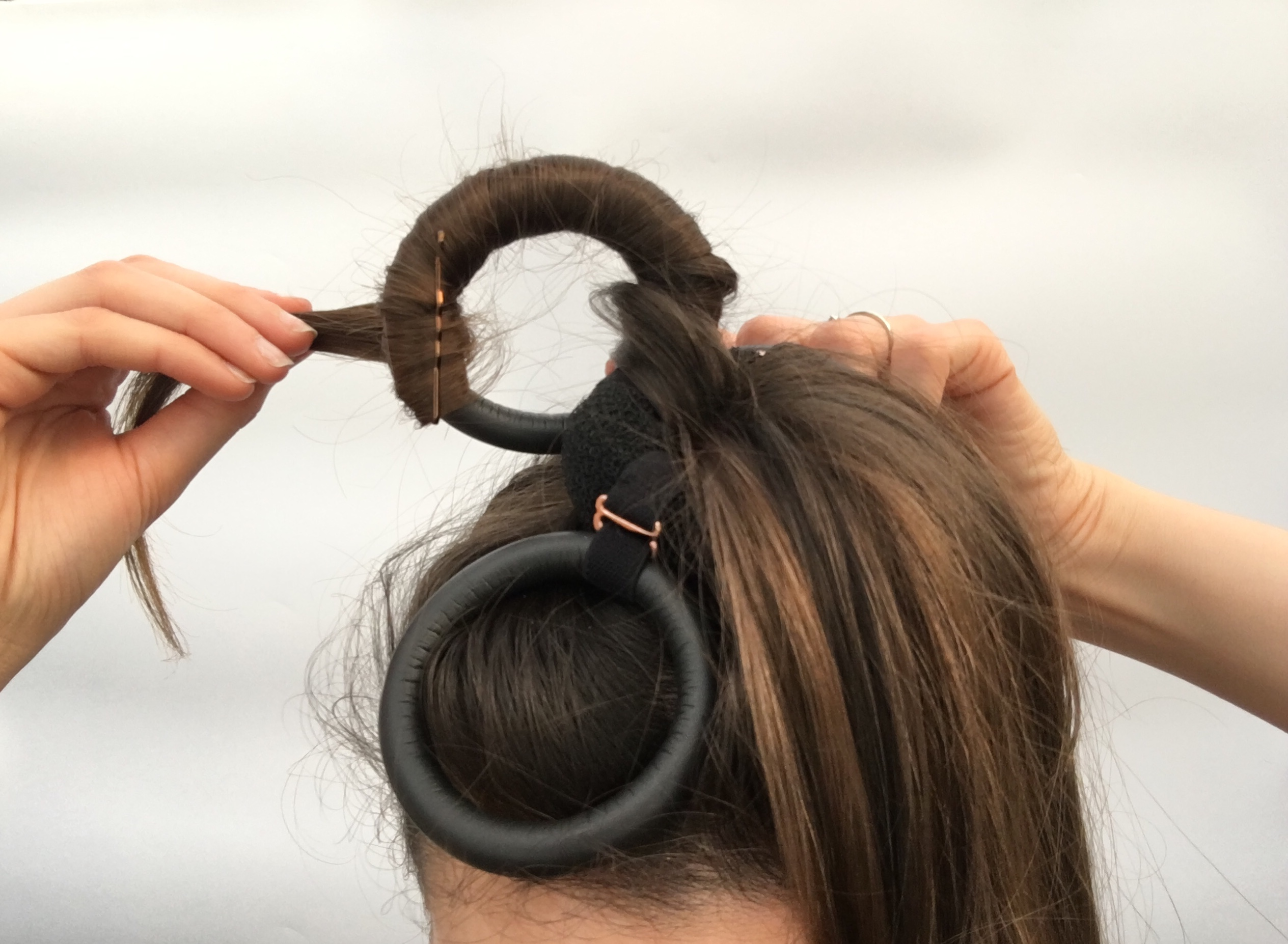flower curl hair curler