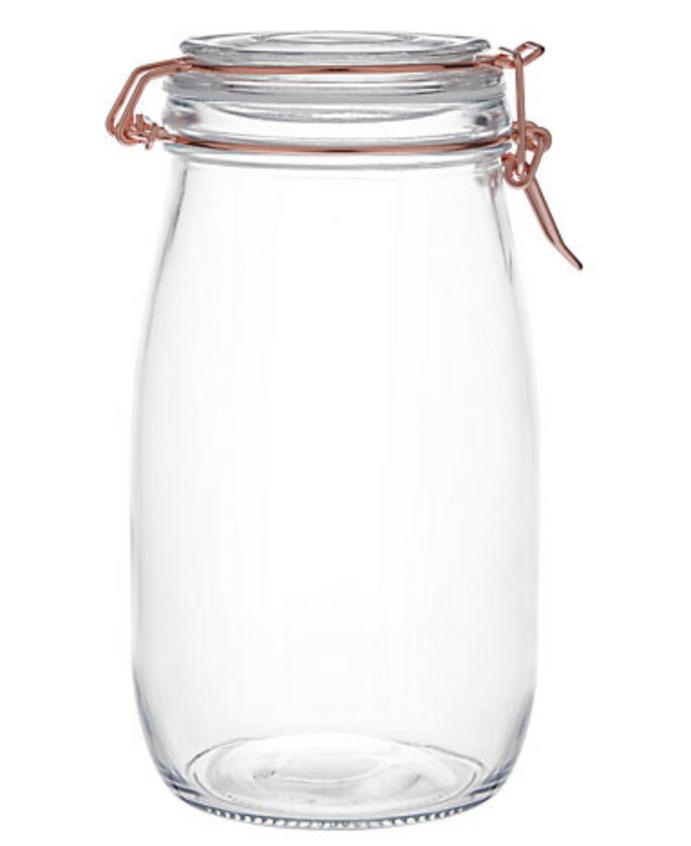 Bath Bomb Storage Glass Jar