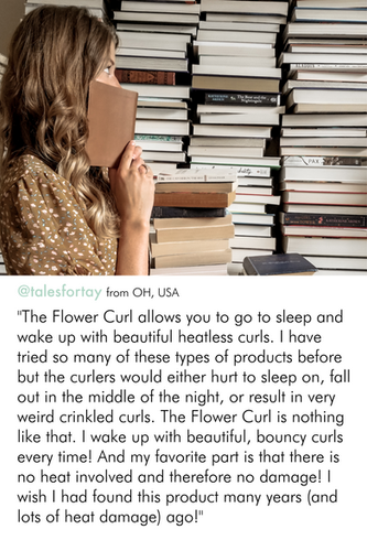 flower curl review