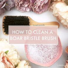 how to clean a boar bristle brush.png
