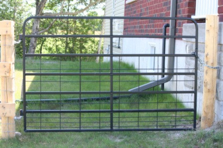 Custom Steel Gate