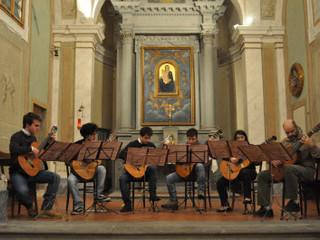 Grande successo dell'Ensemble di chitarre all'Oratorio di Sant'Omobono