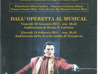 Due secoli di musica: dall'operetta al musical.