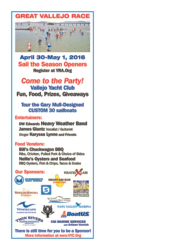 Great Vallejo Race Program