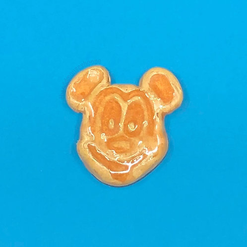 Waffle Mouse Brooch
