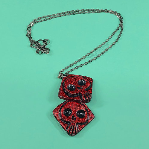 Oogie Dice Necklace