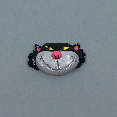 Evil Cat Brooch
