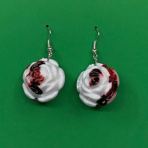 Bloody Roses Earrings