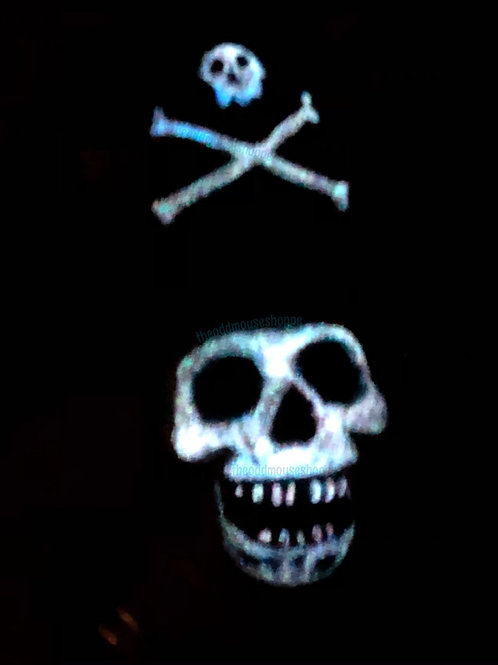 Jolly Roger Glow Brooch