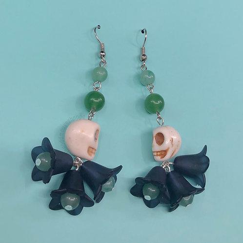 Skull Foolish Earrings