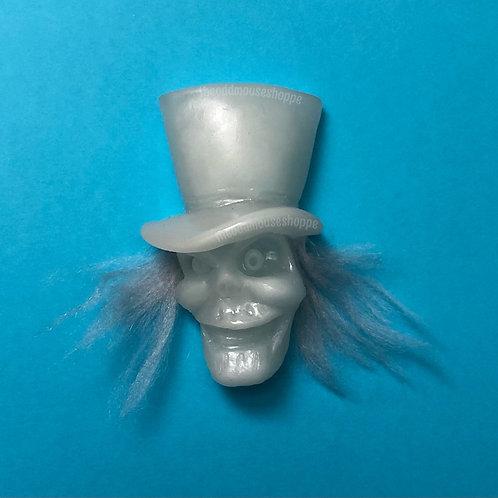 Hat Box Ghost Brooch