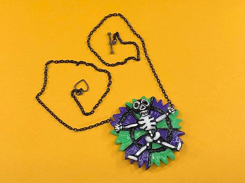Oogie Skeleton Necklace