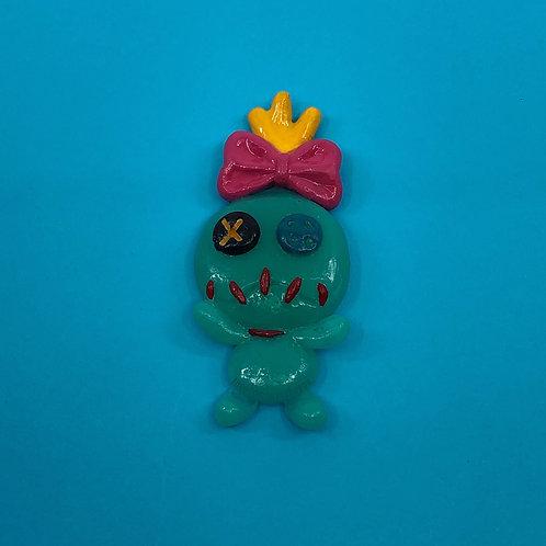 Voodoo Doll Brooch