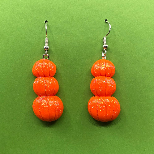 Pumpkin Stack Earrings
