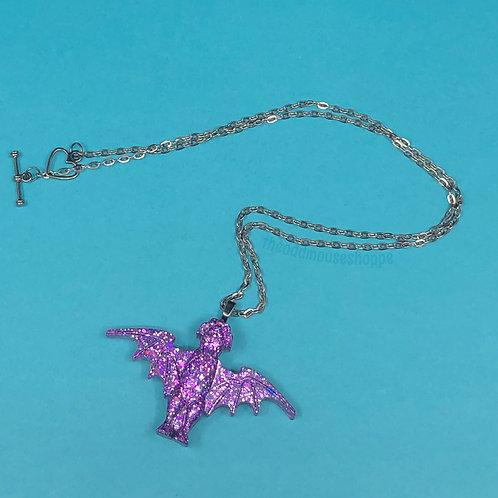 Stanchion Bat Necklace