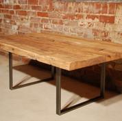 Handhewn chestnut table 2.JPG