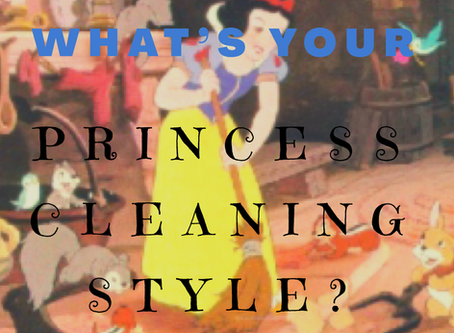 What's your Princess Cleaning Style?