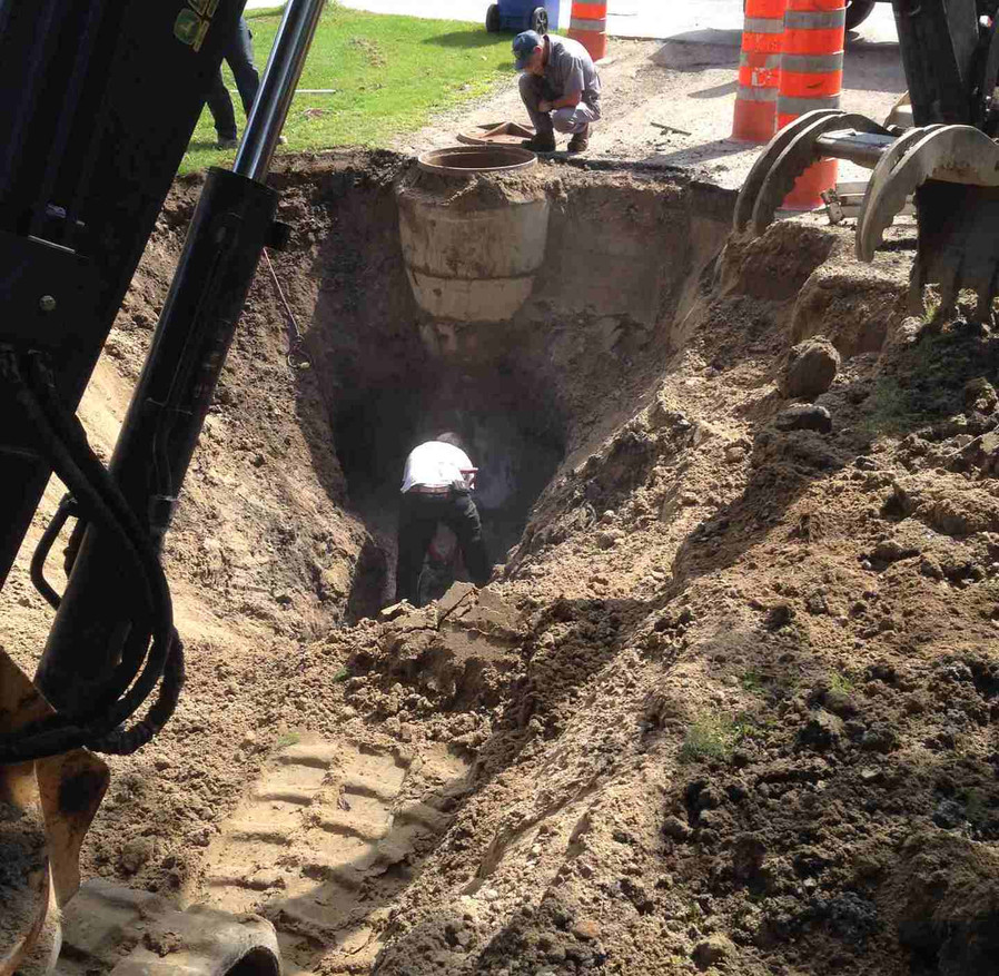 New Sewer Lines