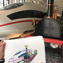 Deutschebahn Musem Visit