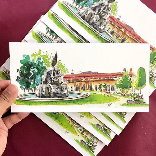 Art Postcard   Schlossgarten Erlangen