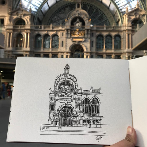 The most beautiful train station ever