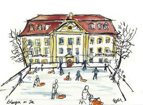 Erlangen on Ice