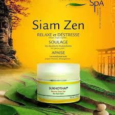 Le Baume Siam Zen vient d'arriver dans votre Institut.
