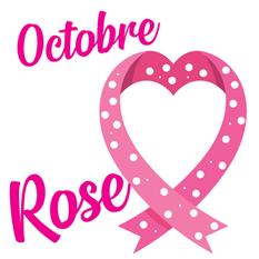 Octobre Rose - Je me ligue contre le Cancer.