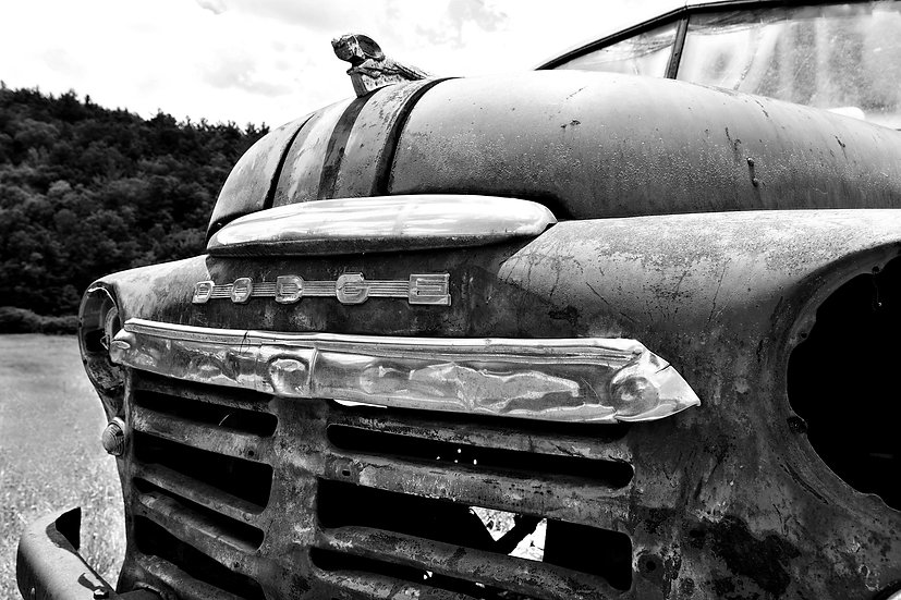 Ole Rusty Dodge Truck