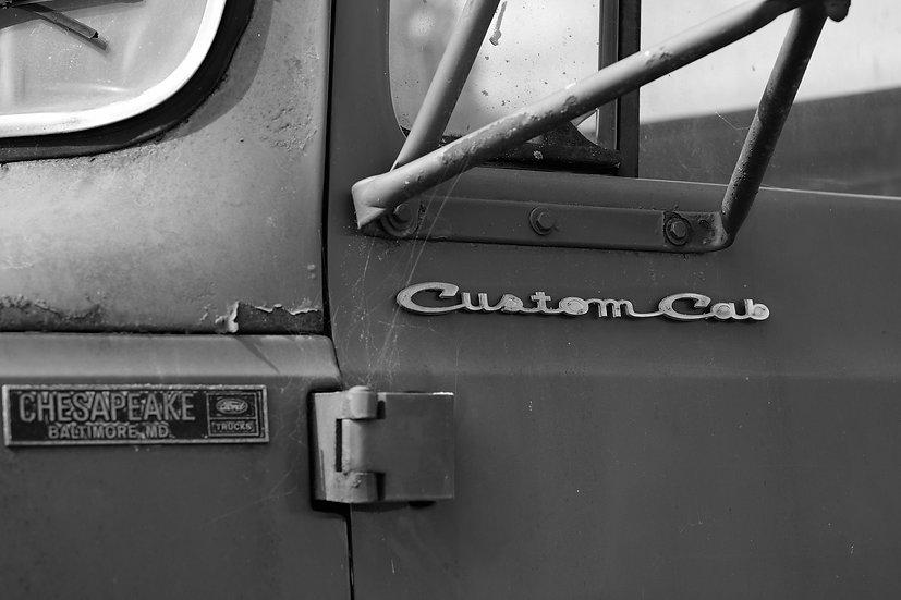 Custom Cab print