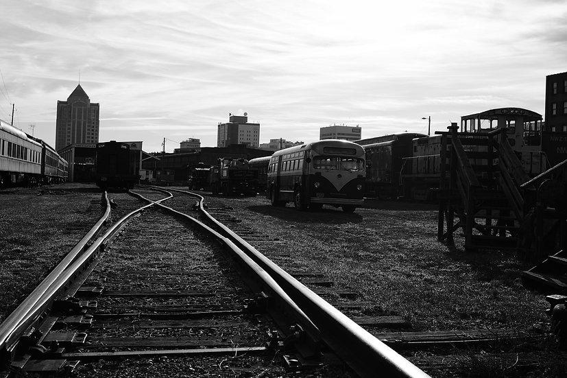 Roanoke Train Station Bone Yard